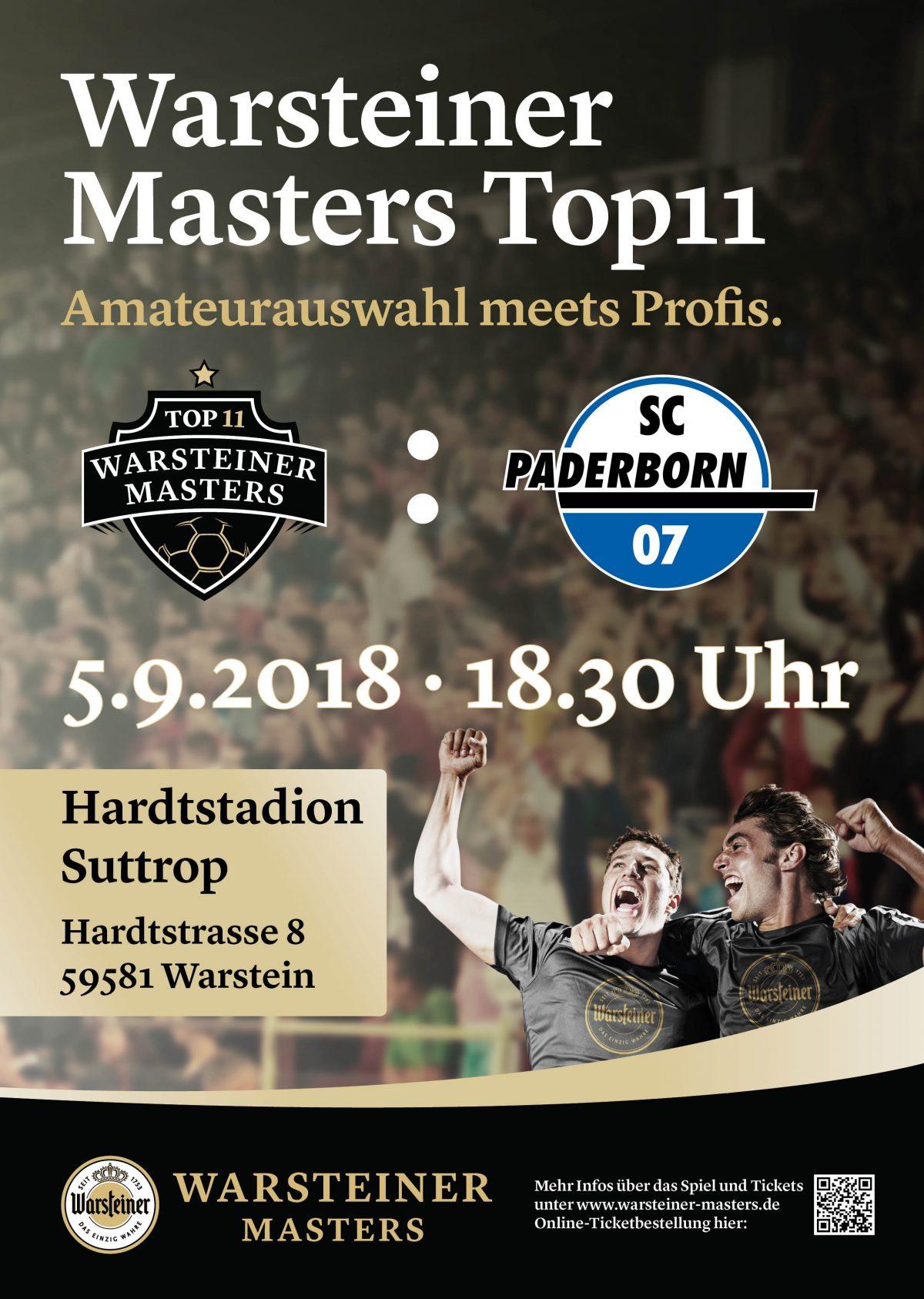 5. September 2018: SC Paderborn 07 im Suttroper Hardtstadion