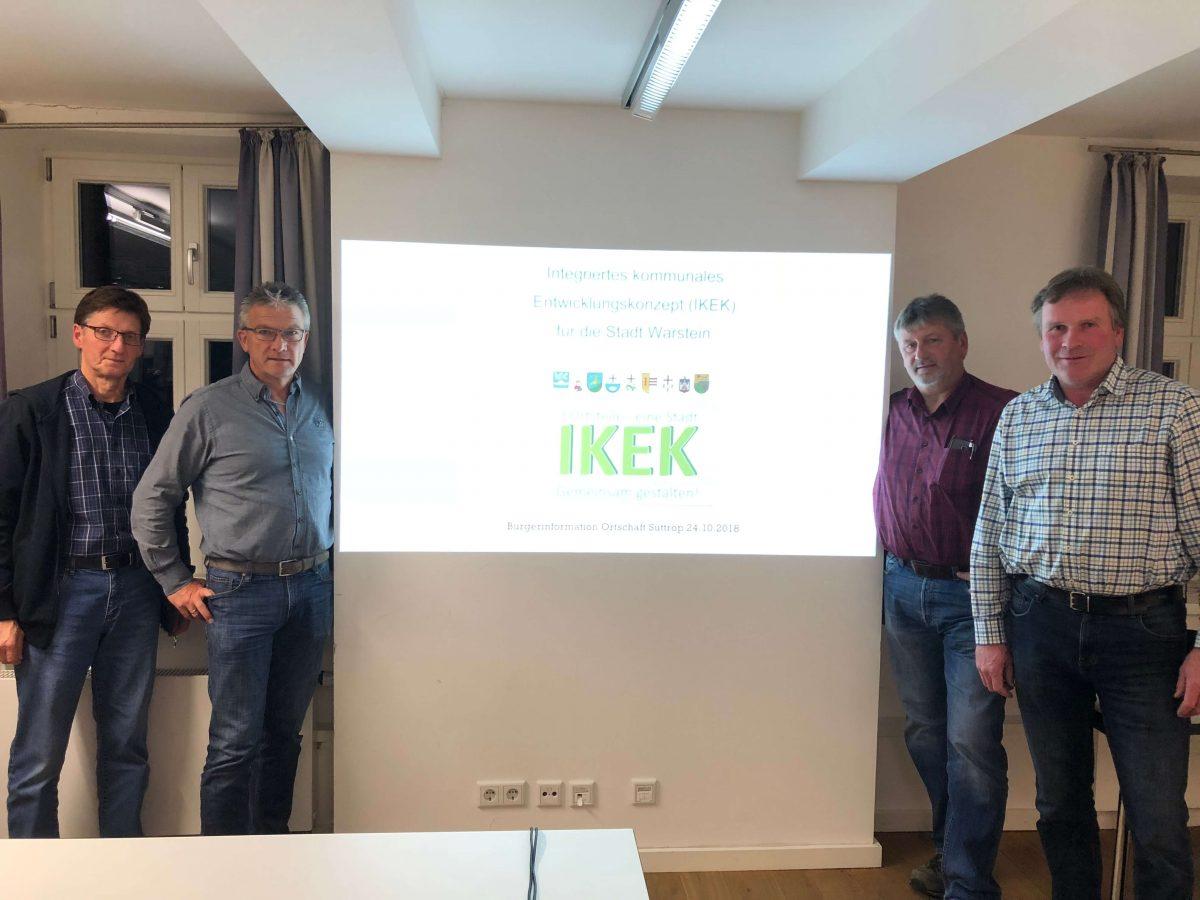 Veranstaltung zum IKEK-Gesamtkonzept für die Stadt Warstein am 24.10.2018
